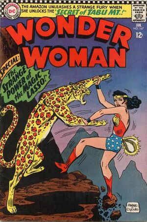 Cover for Wonder Woman #167