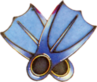 Zora's Flippers (A Link to the Past)