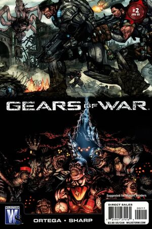 Cover for Gears of War #2