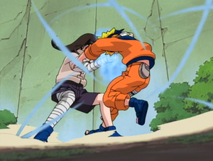 Neji&#39;s Fight With Naruto