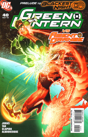 Cover for Green Lantern #40