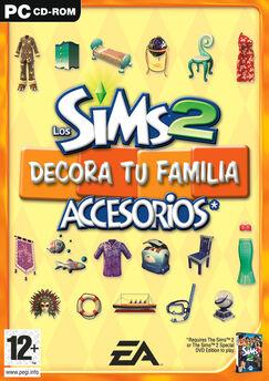 Los sims 2 Informacion de sus accesorios 243px-Decoratufamiliaportada