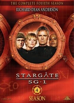 SG-1 season 4 DVD