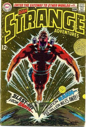 Cover for Strange Adventures #217