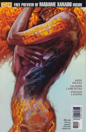 Cover for Hellblazer #244