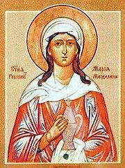 Maria Magdalene icon