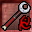 Red Rune Silveran Mace Icon