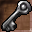 Scratched Key Icon