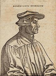 Ulrich Zwingli by Hans Asper 1531