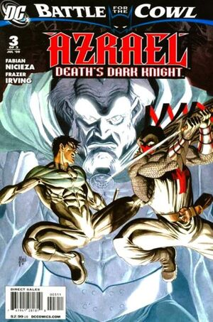 Cover for Azrael: Death&#39;s Dark Knight #3