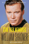 Star Trek Memories 2009 cover