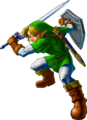 Link Artwork 2 (Ocarina of Time)