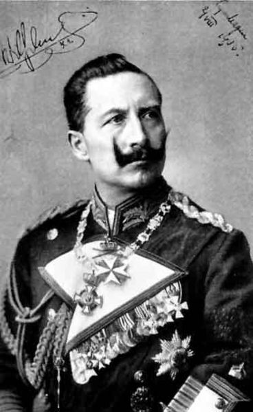 Kaiser Wilhelm II for the
