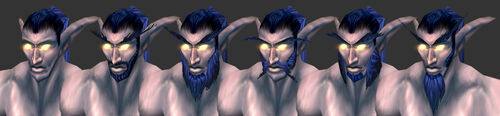 NightElf Male Facialfeatures