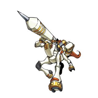 KnightChessmon (White) b