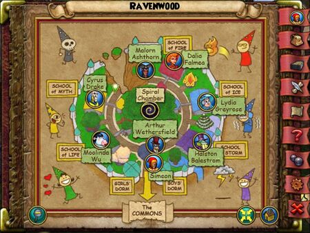 The Ravenwood Smith Map