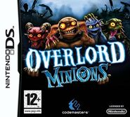 Overlord Minions PEGI Box Art