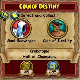 Coin of Destiny QKT