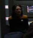 Voyager crew member sleeping in sickbay 1