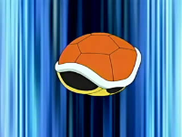 EP467 Squirtle usando refugio