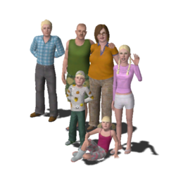 Bunch Family (The Sims 3)