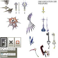 Armes Organisation XIII