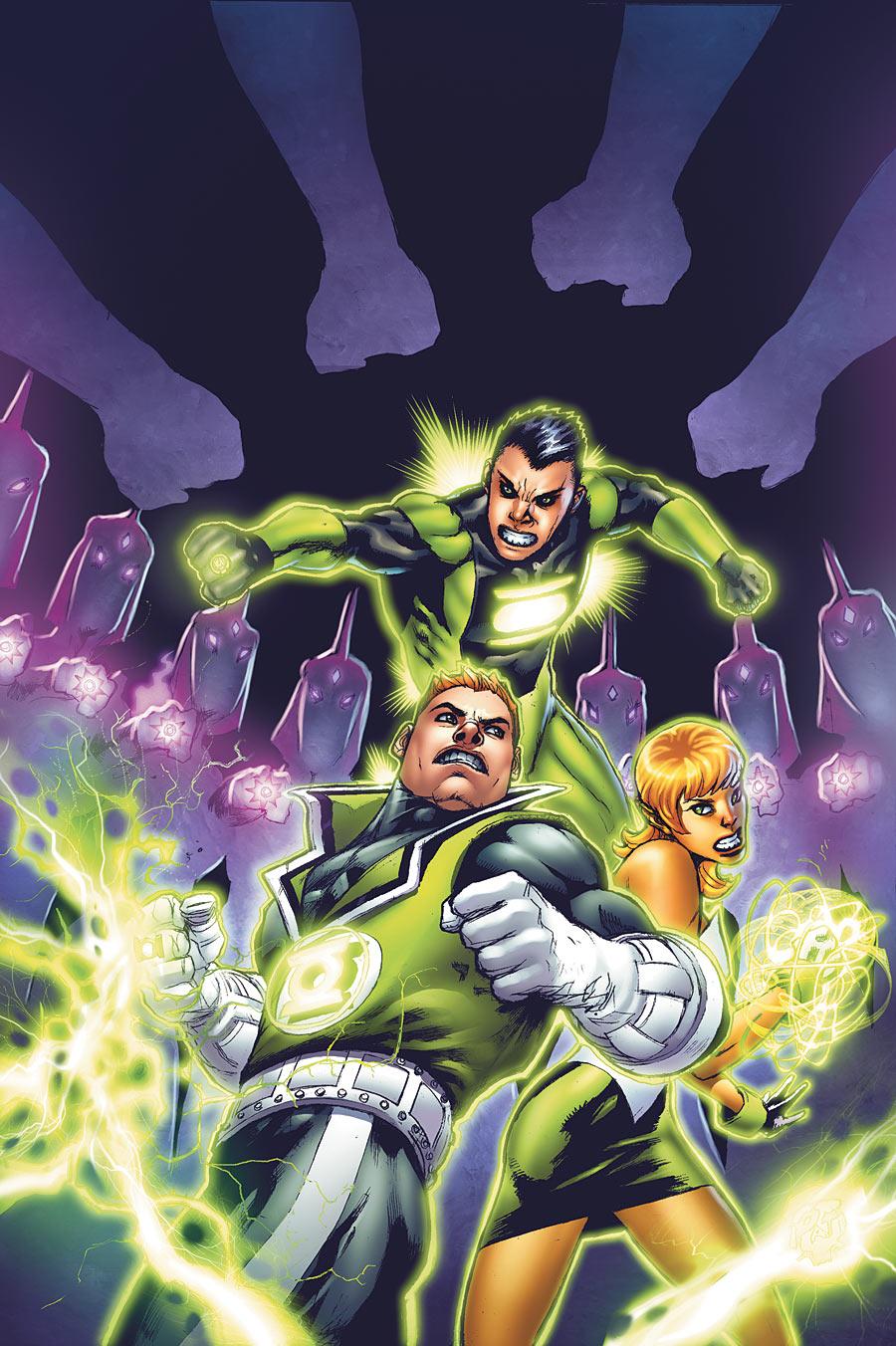 Green Lantern Corps Sins Of The Star Sapphire Dc Comics