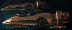 Mandalorian battleship Great War