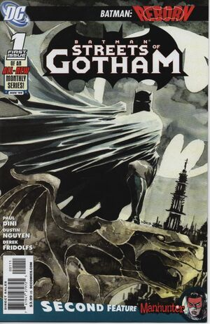 Cover for Batman: Streets of Gotham #1