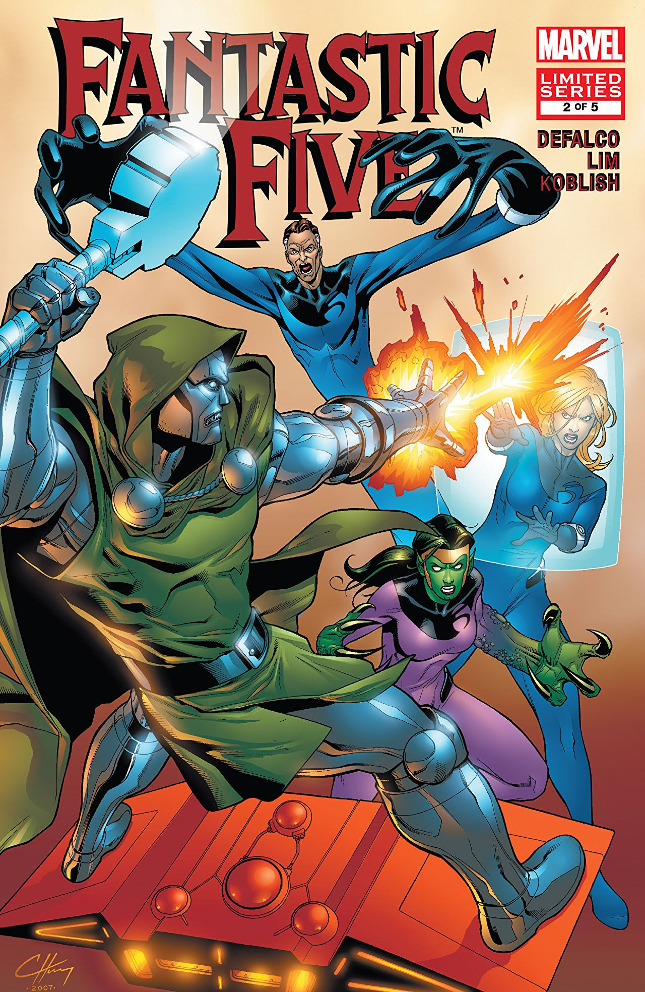Fantastic Five Vol 2 2