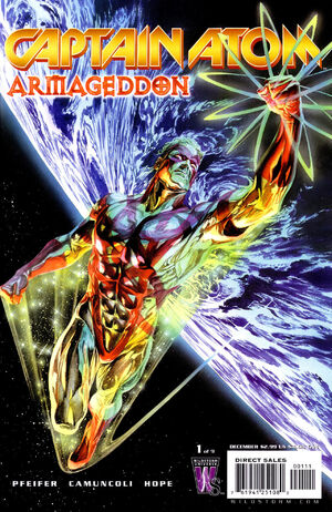 Cover for Captain Atom: Armageddon #1
