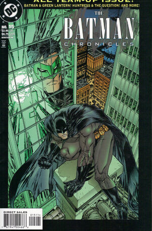 Cover for Batman Chronicles #15