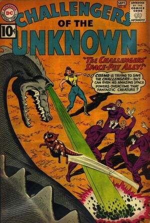 Cover for Challengers of the Unknown #21