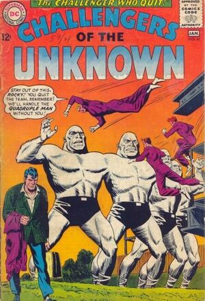 Cover for Challengers of the Unknown #41