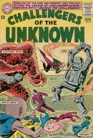 Cover for Challengers of the Unknown #42