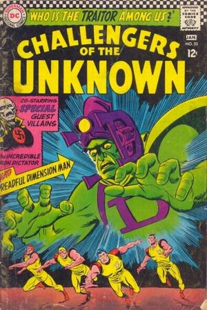 Cover for Challengers of the Unknown #53