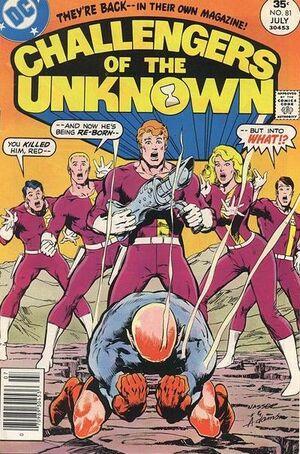 Cover for Challengers of the Unknown #81