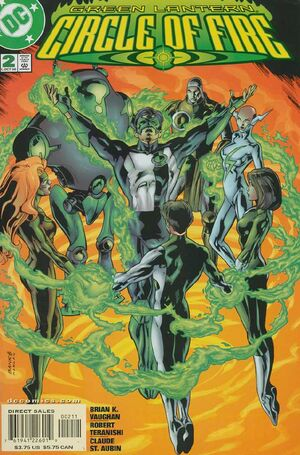 Cover for Green Lantern: Circle of Fire #2