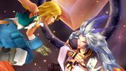 Kuja fights Zidane