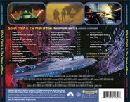 Star Trek II expanded soundtrack back cover