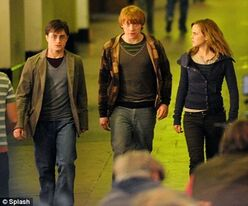 The Trio running