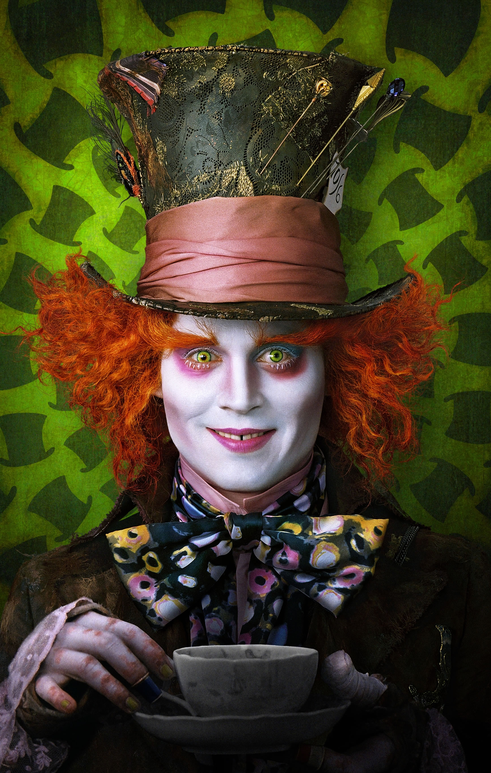 Alice In Wonderland Mad Hatter Johnny Depp