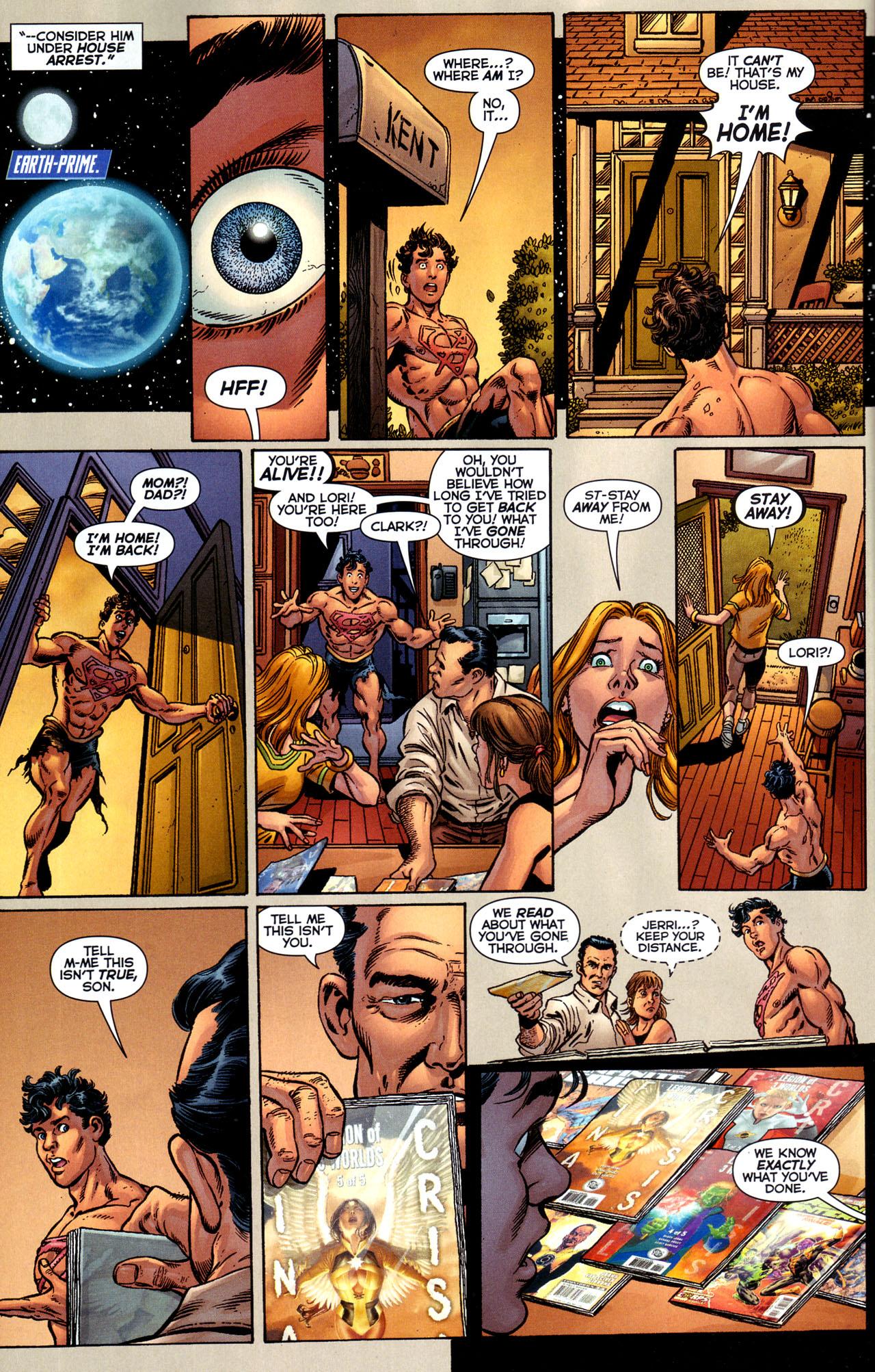 Superboy Prime Returns to Earth Prime patricia zentilli zentilli patricia patricia zentilli zentilli patricia ...