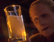 Odo with Bajoran Ale