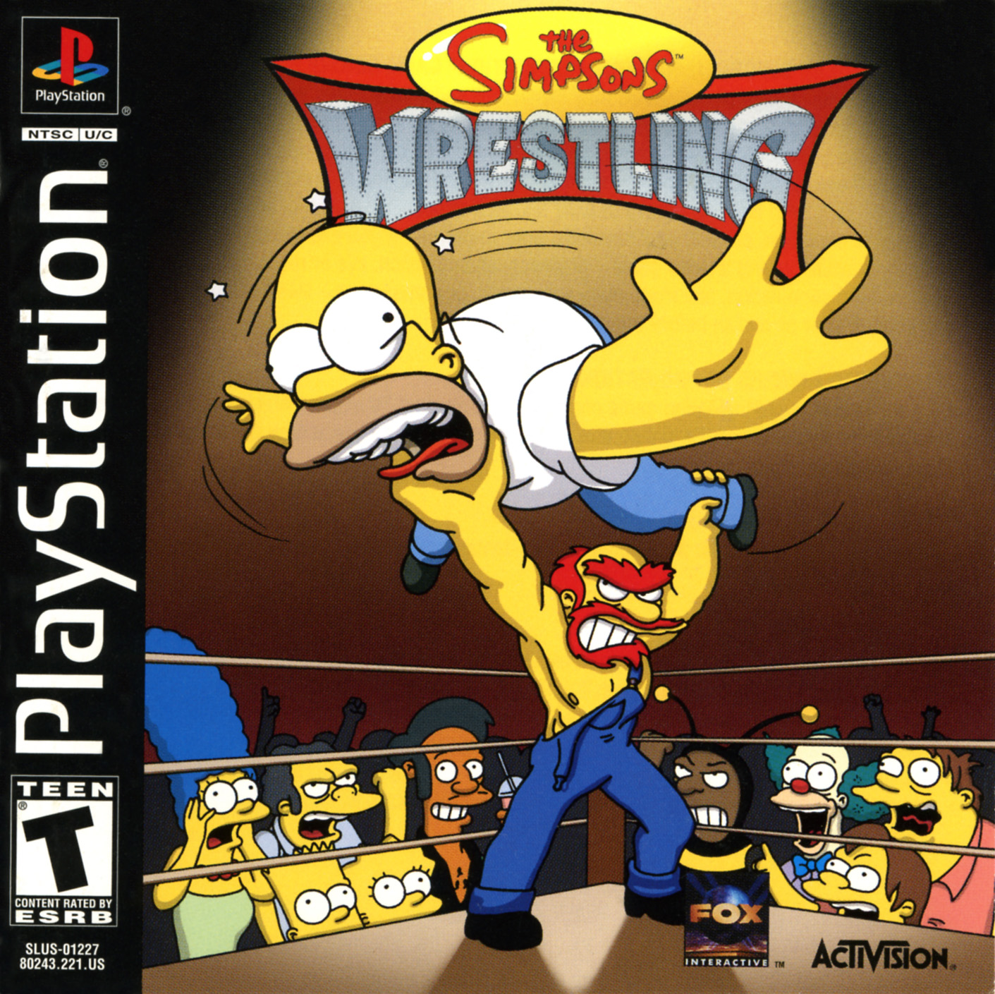 The Simpsons Wrestling - Wikisimpsons