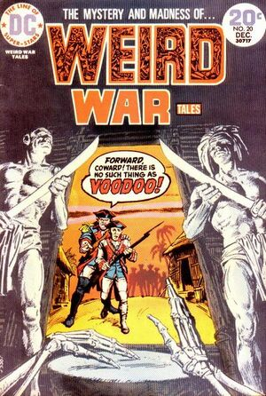 Cover for Weird War Tales #20