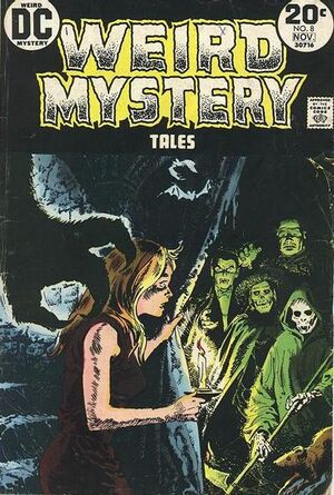 Cover for Weird Mystery Tales #8
