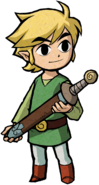 Link Artwork 4 (The Minish Cap)