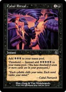 Cabal Ritual - The Magic: The Gathering Wiki - Magic: The Gathering ...