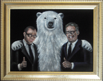 DamonCarltonPolarBearPainting